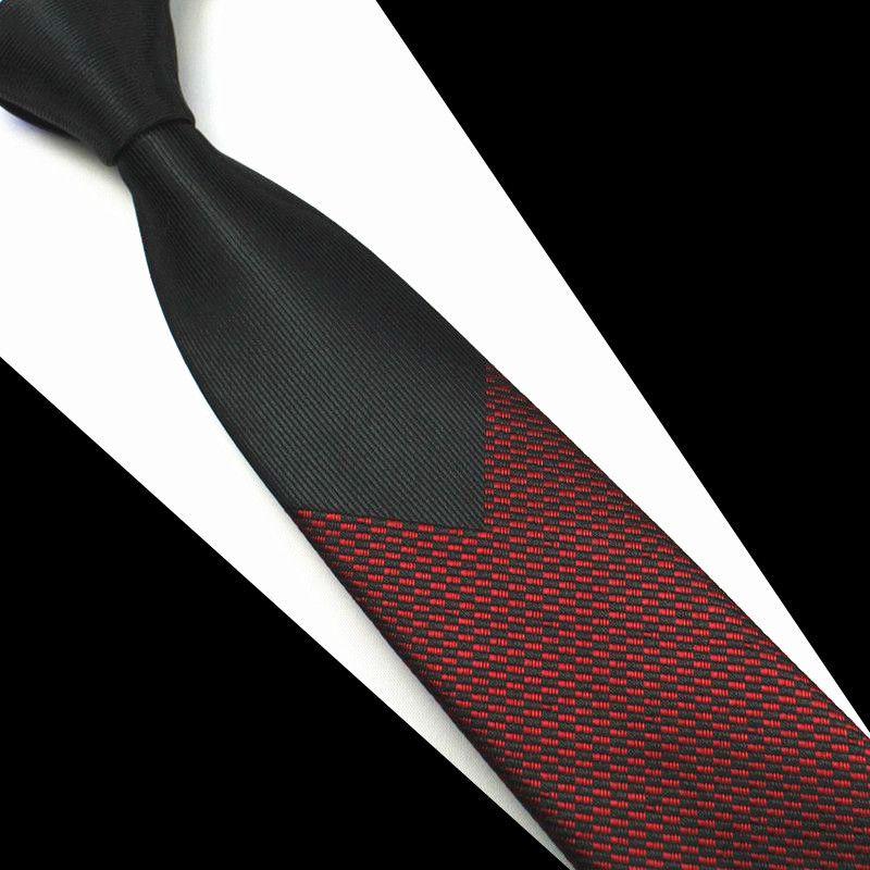 Gravata Luxo Slim 6 Cm Jaquard