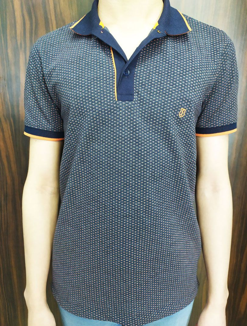 Polo Masculina Slim Fit Individual