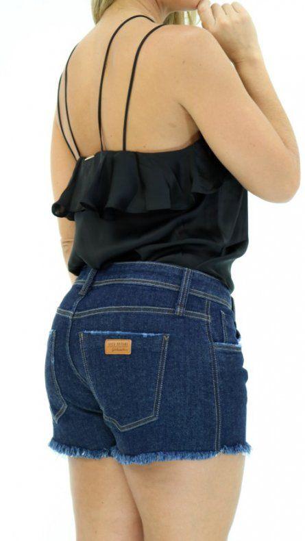 Short Low Slim Comfort  Jeans Lança Perfume
