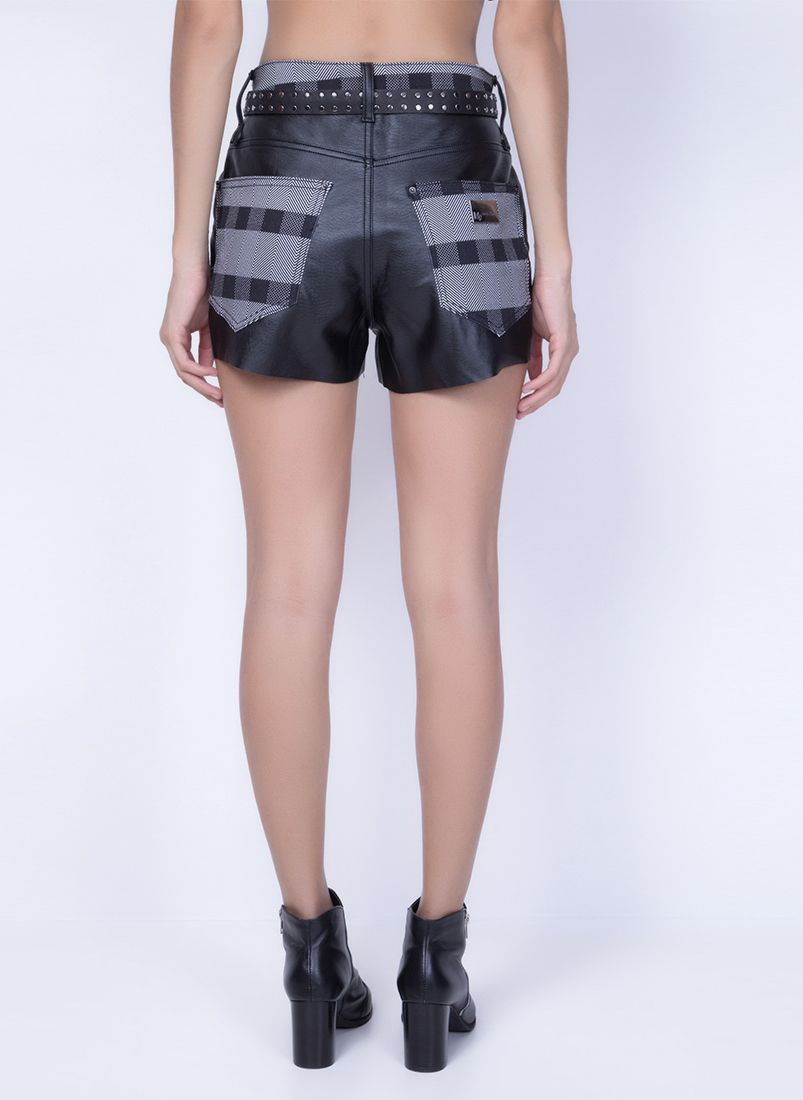 Short Super High Slim Xadrez MyFT