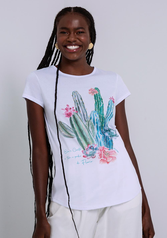 T-shirt Cactos Sertão Lez a Lez