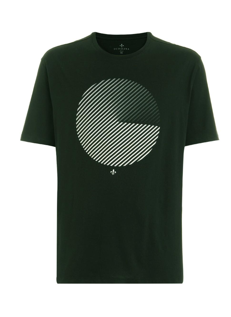T-Shirt Camiseta Círculo Dudalina