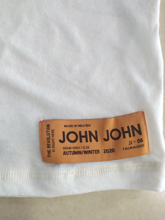 T-shirt Camiseta Estampada RX Future Past Off White Masculina JOHN JOHN