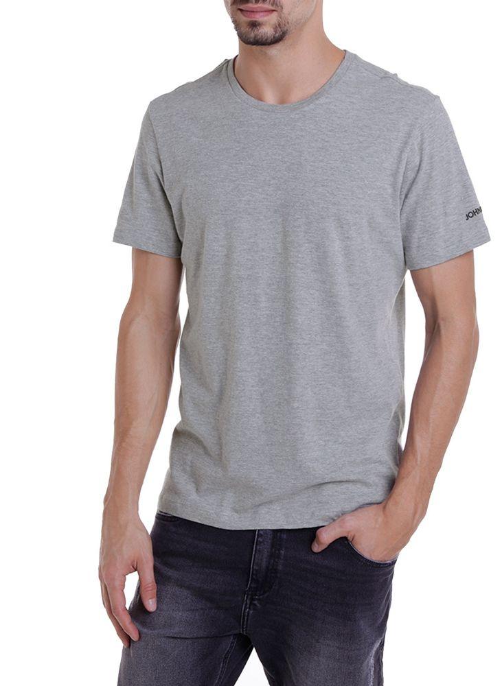 T-shirt Camiseta RG Slub Basic Malha Masculina JOHN JOHN
