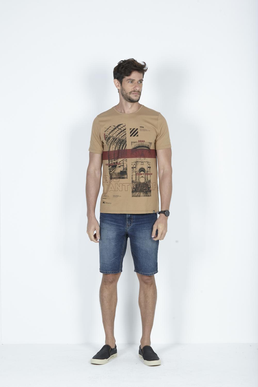 T-Shirt Camiseta Urban Estamapa Antwerp Frontal Dimy
