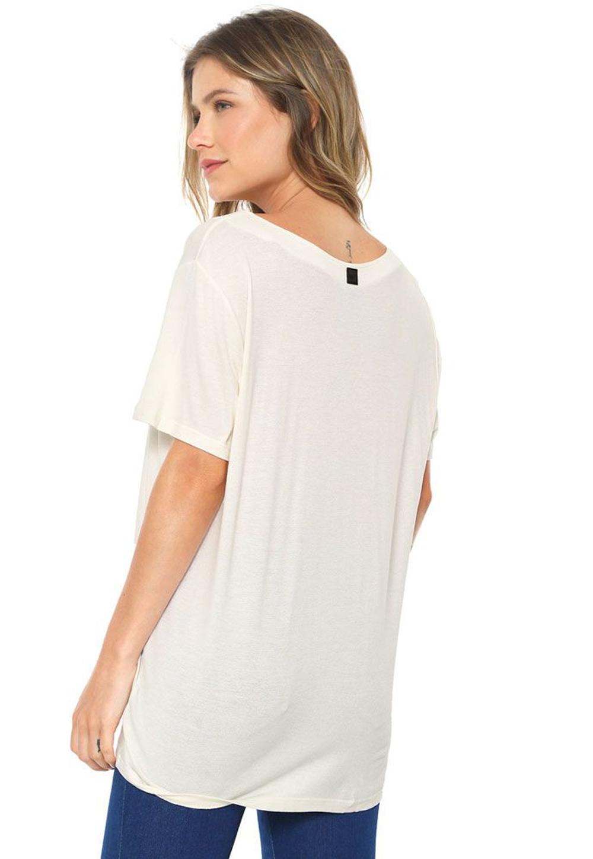 T-shirt Malha Decote Trançado MyFT