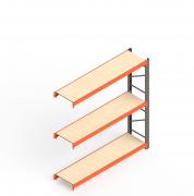 Mini Porta Paletes Complementar 2.00x1.85x0.60 - 3 Niveis 300 Kg