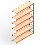 Mini Porta Paletes Complementar 3.00x1.85x0.60 - 6 Níveis 300 Kg