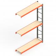 Mini Porta Paletes Complementar A3.00XL1.85XP0.50 - 3 Níveis 300 Kg