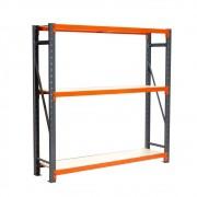 Mini Porta Paletes Inicial 2.00x1.85x0.60 - 3 Niveis 300 Kg