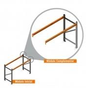 Porta Paletes Complementar 2.00x2.30x1.00 - 1 Níveis 500 Kg