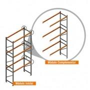 Porta Paletes Complementar 5.00x1.22x1.00 - 3 Níveis 1.000 Kg