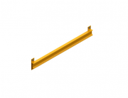 Travessa do Protetor de Conjunto Universal EasyToque C991mm Amarelo