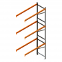 Porta Palete Complementar 3.00x1.22x1.00 - 3 Níveis 1.000 Kg