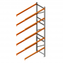 Porta Palete Complementar 6.00x1.22x1.00 - 5 Níveis 2.000 Kg