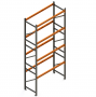 Porta Paletes Inicial A6.00xL1.22xP1.00 - 4 Níveis 2.000 Kg