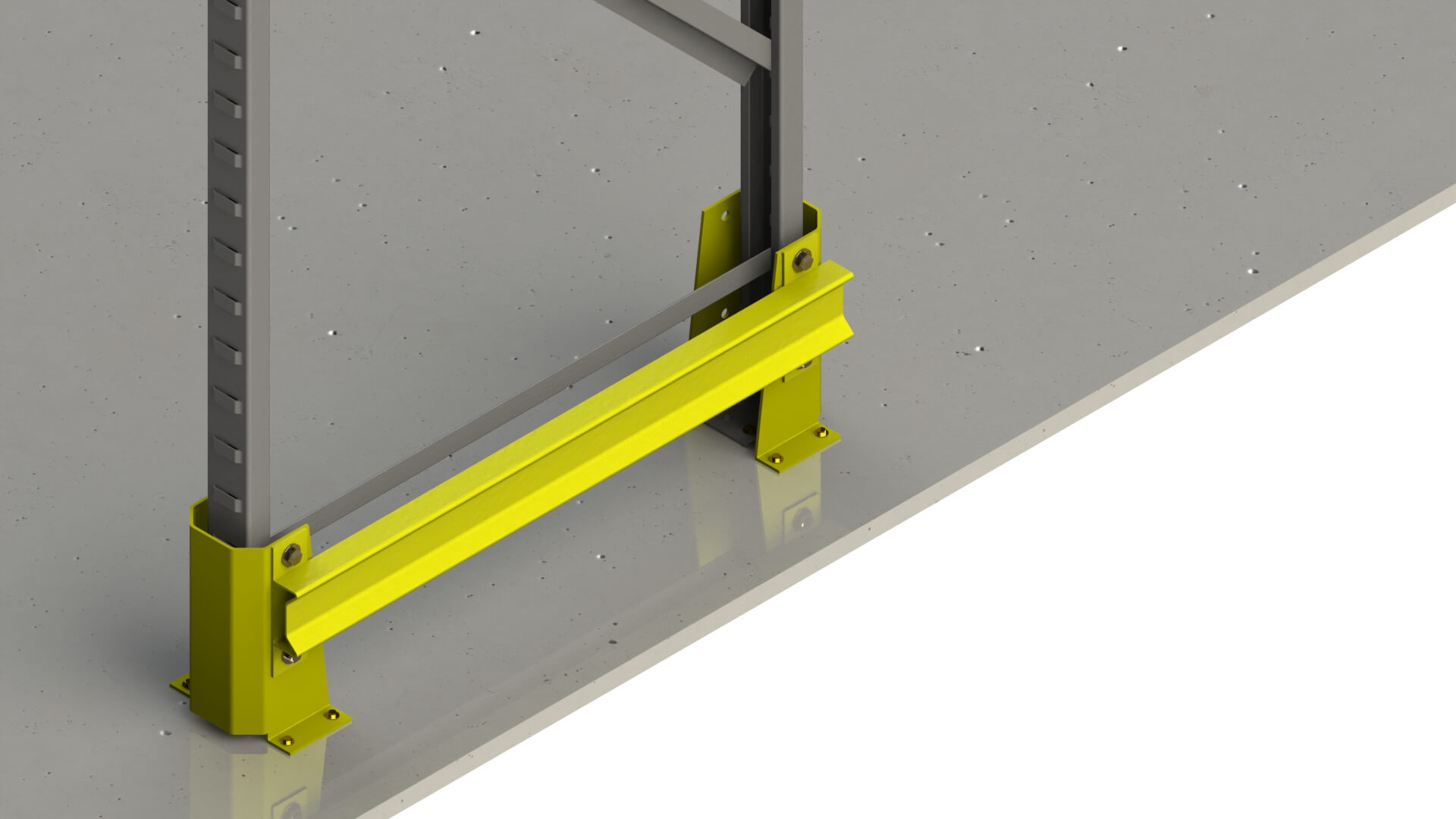 Conjunto de protetor universal Easy Toque - 1.000mm - Amarelo