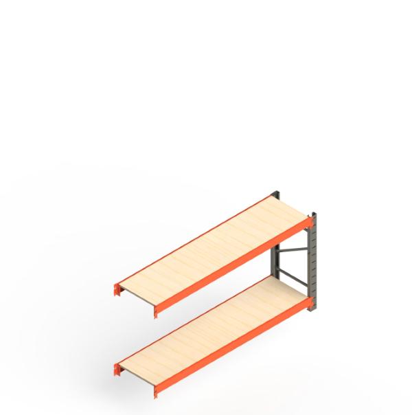 Mini Porta Paletes Complementar 2.00x1.85x0.50 - 2 Níveis 300 Kg