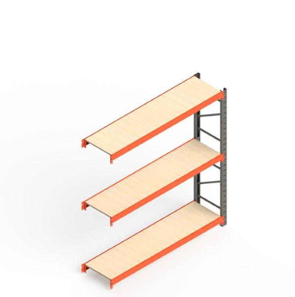 Mini Porta Paletes Complementar 2.00x1.85x0.60 - 3 Níveis 300 Kg