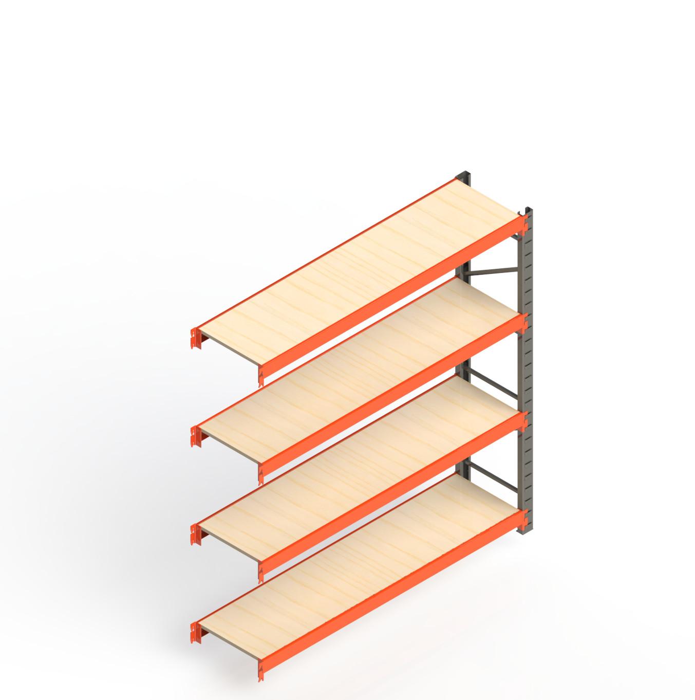 Mini Porta Paletes Complementar 2.00x1.85x0.60 - 4 Niveis 300 Kg
