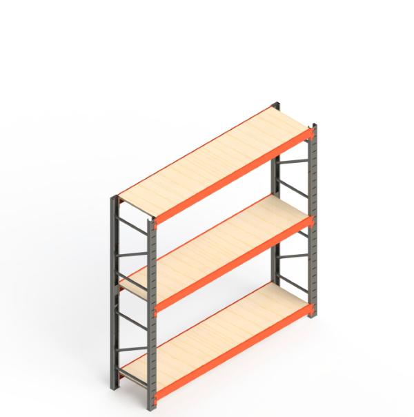 Mini Porta Paletes Inicial 2.00x1.85x0.60 - 3 Níveis 300 Kg