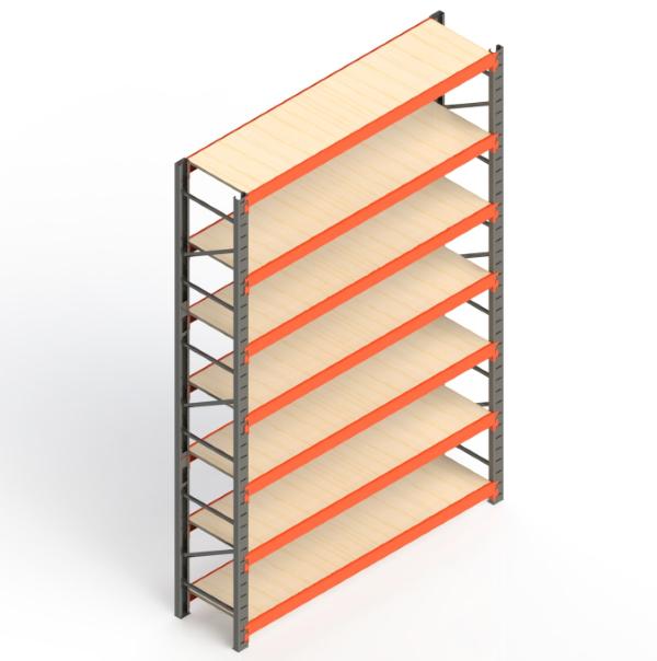 Mini Porta Paletes Inicial 3.00x1.85x0.50 - 7 Níveis 300 Kg