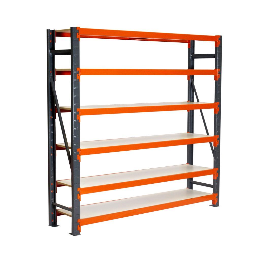 Mini Porta Paletes Inicial 3.00x1.85x0.60 - 6 Niveis 300 Kg