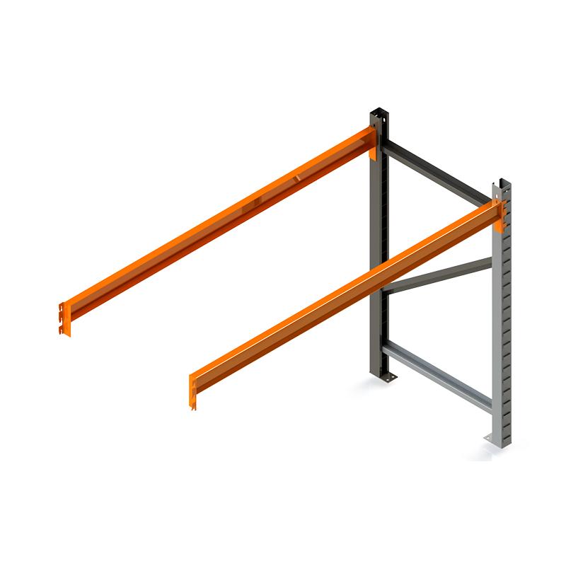 Porta Palete Complementar 2.00x2.30x1.00 - 1 Nível 500 Kg