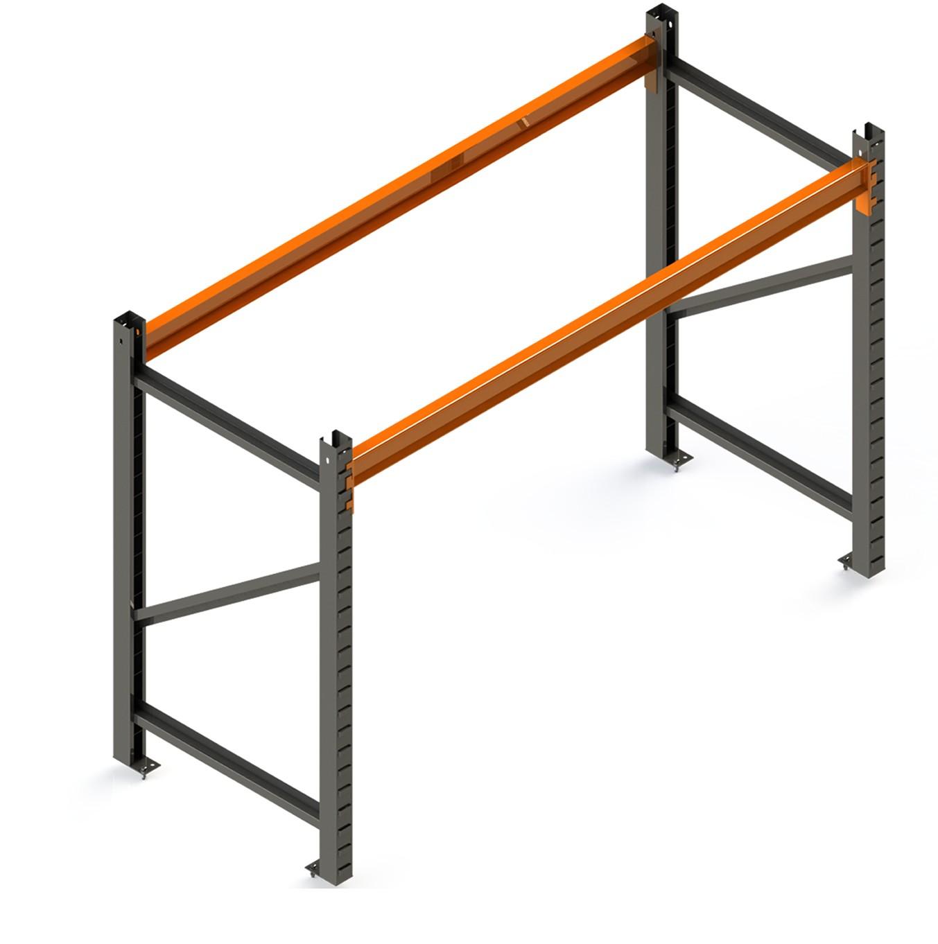 Porta Paletes Inicial 2.00x2.30x1.00 - 1 Níveis 500 Kg