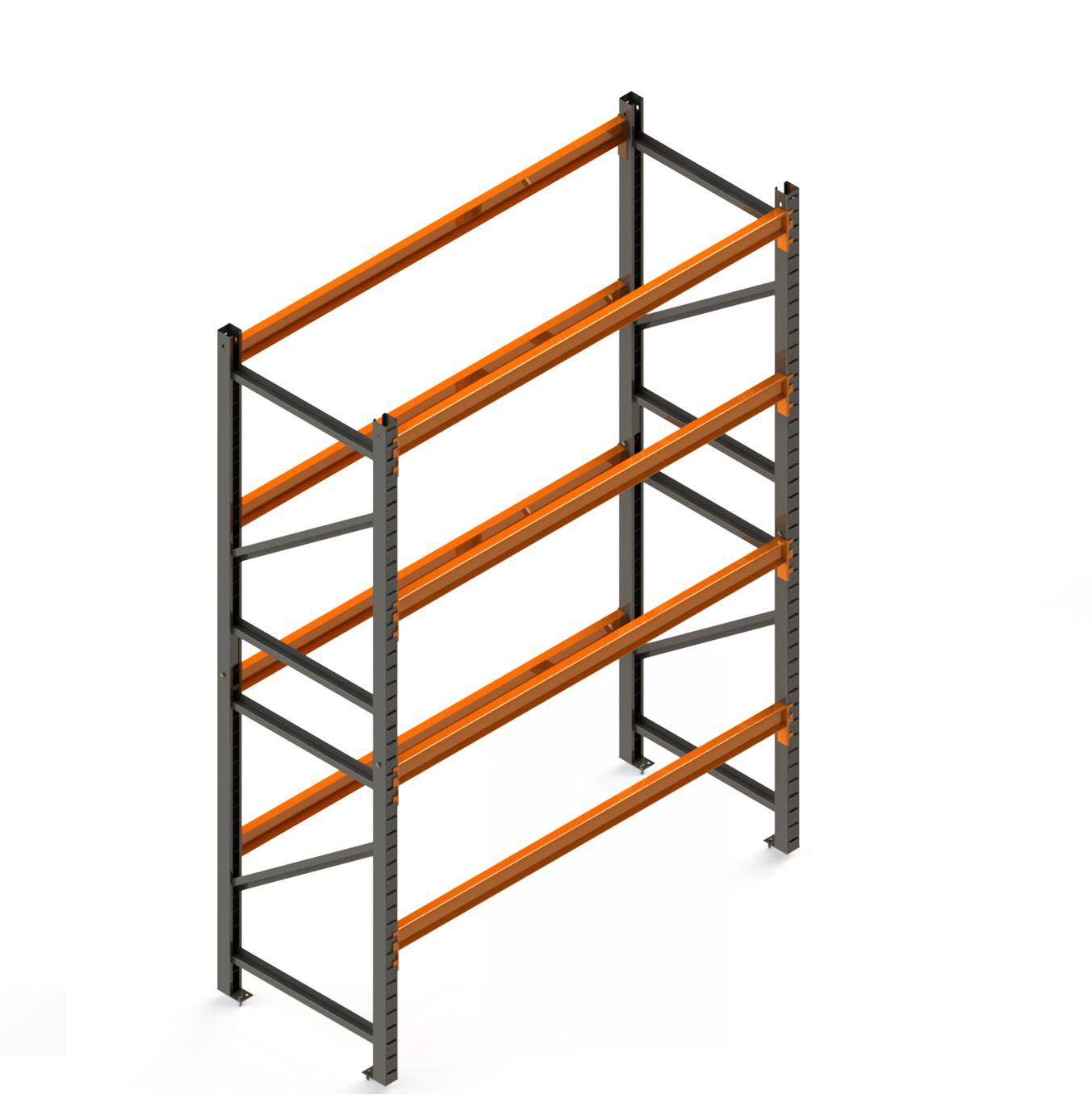 Porta Paletes Inicial A3.00xL1.22xP1.00 - 4 Níveis 1.000 Kg