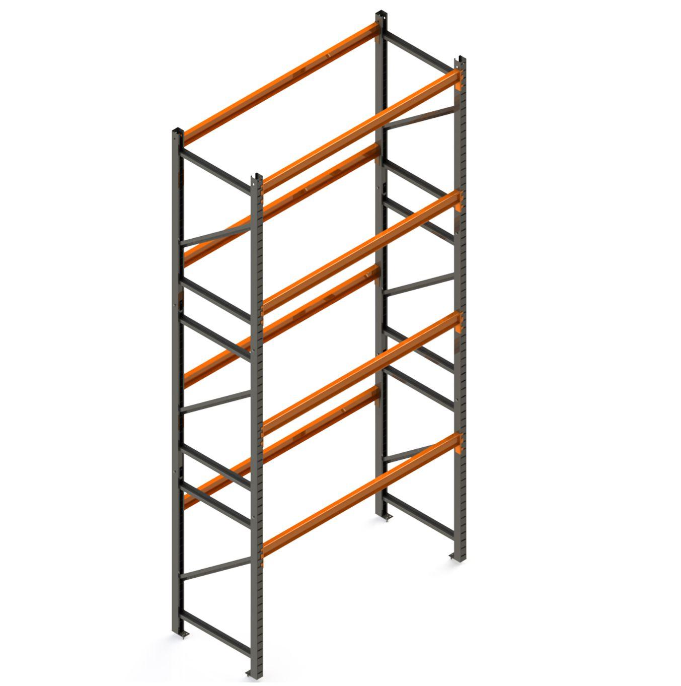 Porta Paletes Inicial A6.00xL1.22xP1.00 - 4 Níveis 1.000 Kg