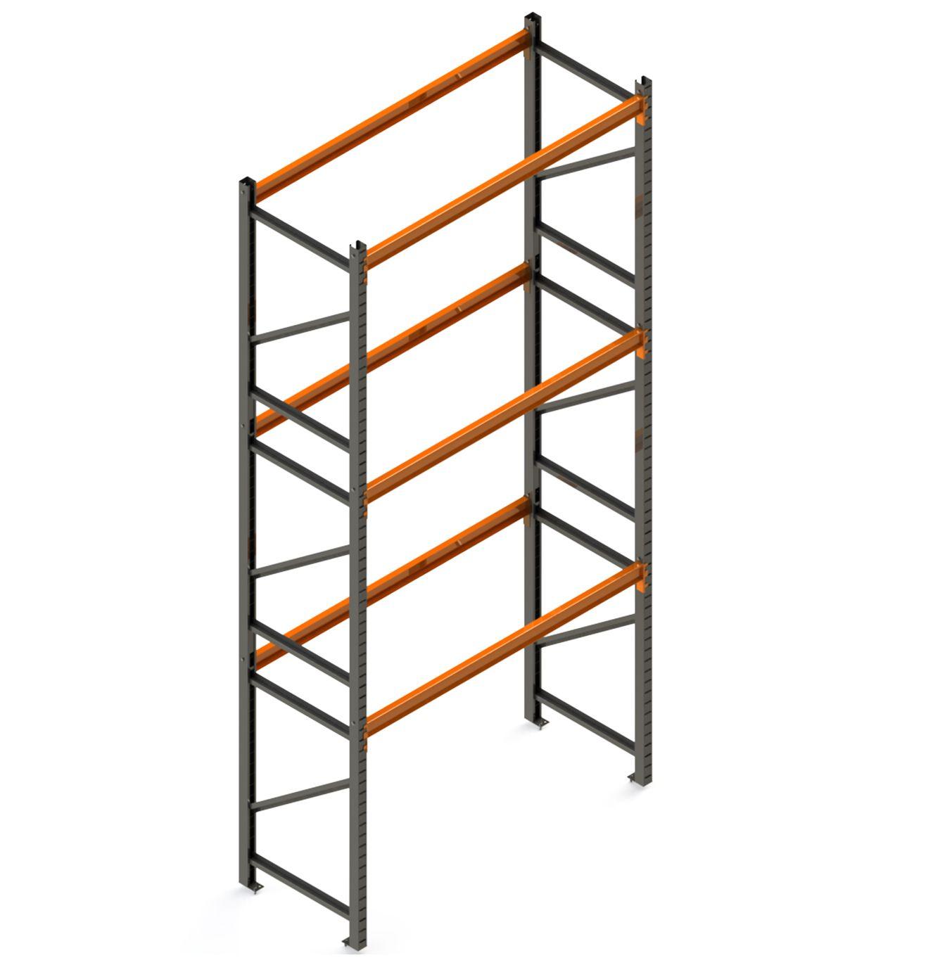 Porta Paletes Inicial A6.00xL2.30xP1.00 - 3 Níveis 500 Kg