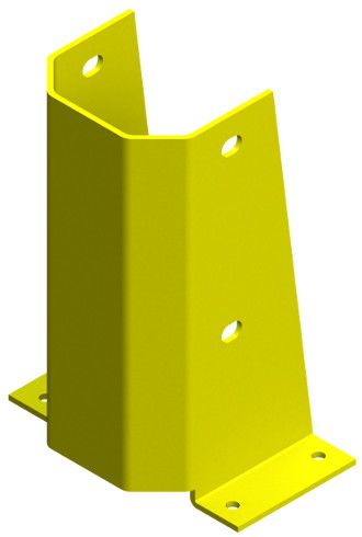 Protetor de Coluna Universal EasyToque A300XP150XC215mm Amarelo