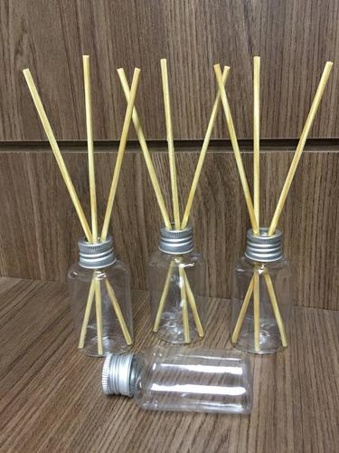 30 Difusores Mod1 Pet 30ml+Tampa+Varetas+1 Litro de Aromatizante Pronto Lavanda