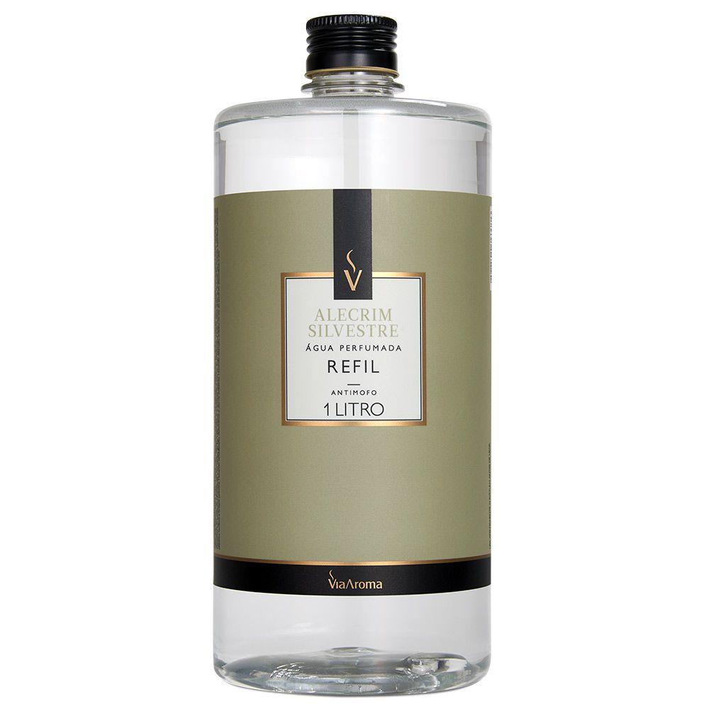 AGUA PERFUMADA PARA TECIDOS ALECRIM SILVESTRE - 01 litro