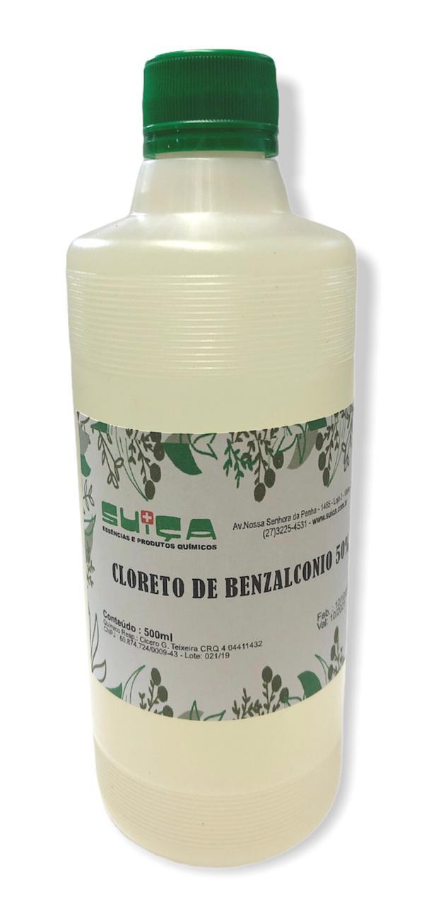 CLORETO DE BENZALCONIO 50% - 500ML