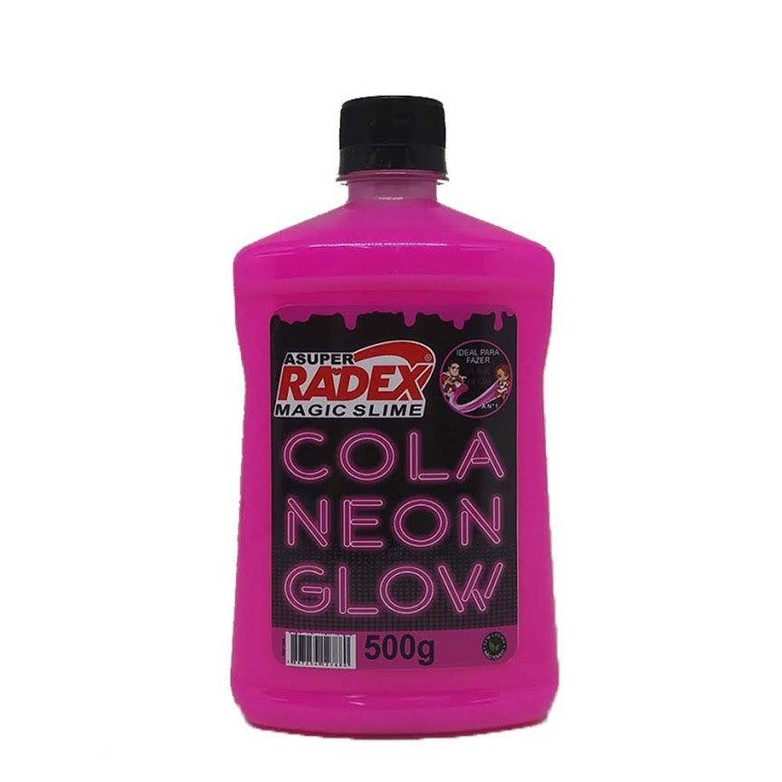 COLA GLOW SLIME ROSA NEON RADEX