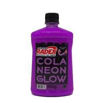 COLA GLOW SLIME ROXA NEON RADEX