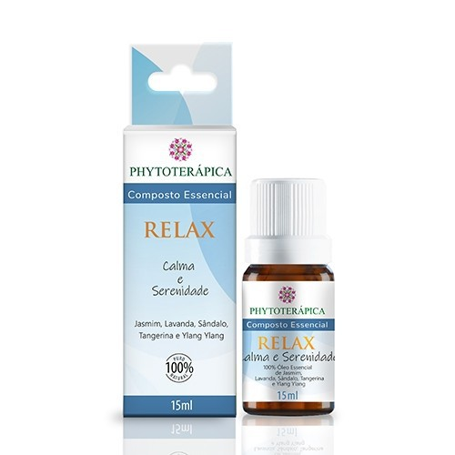 COMPOSTO ESSENCIAL RELAX  15ml Phytoterapica