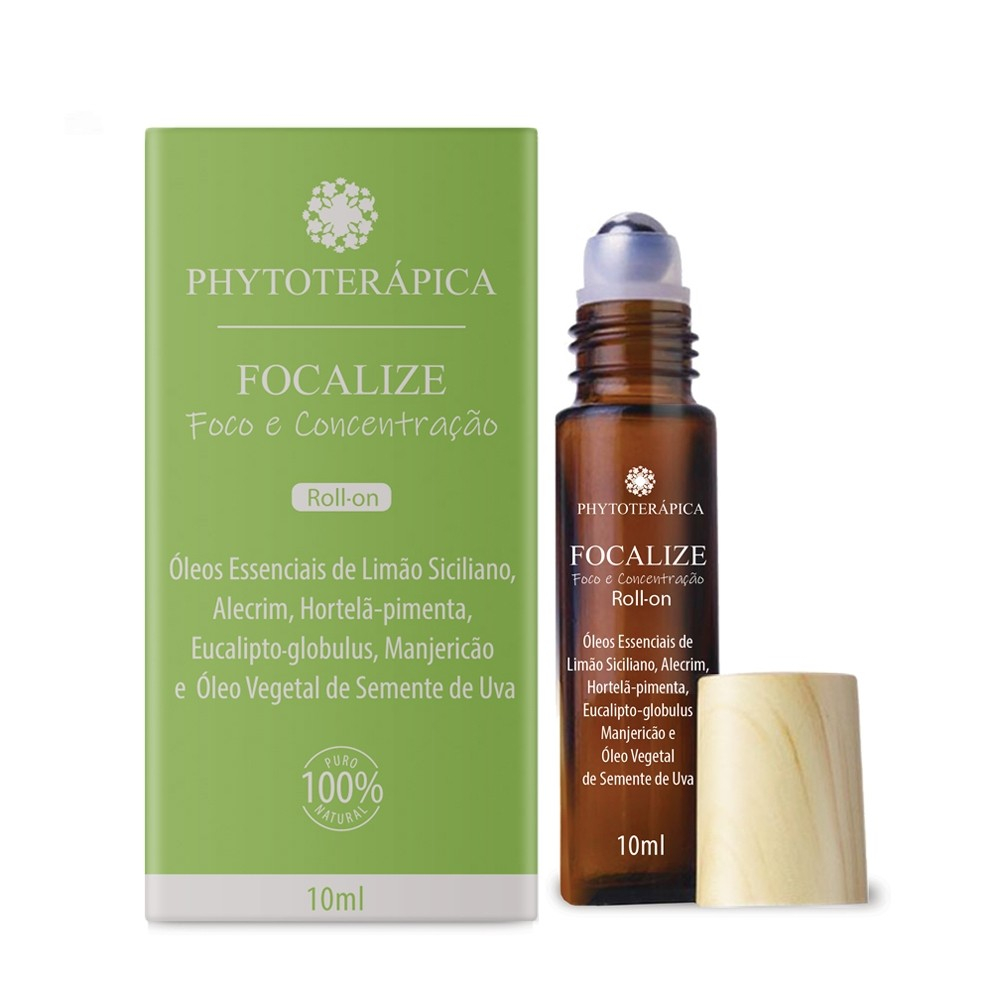 OLEO COMPOSTO ROLL-ON FOCALIZE - 10ML PHYTOTERAPICA