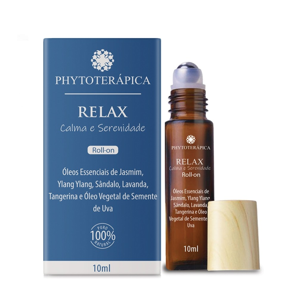 OLEO COMPOSTO ROLL-ON RELAX - 10ML  PHYTOTERAPICA