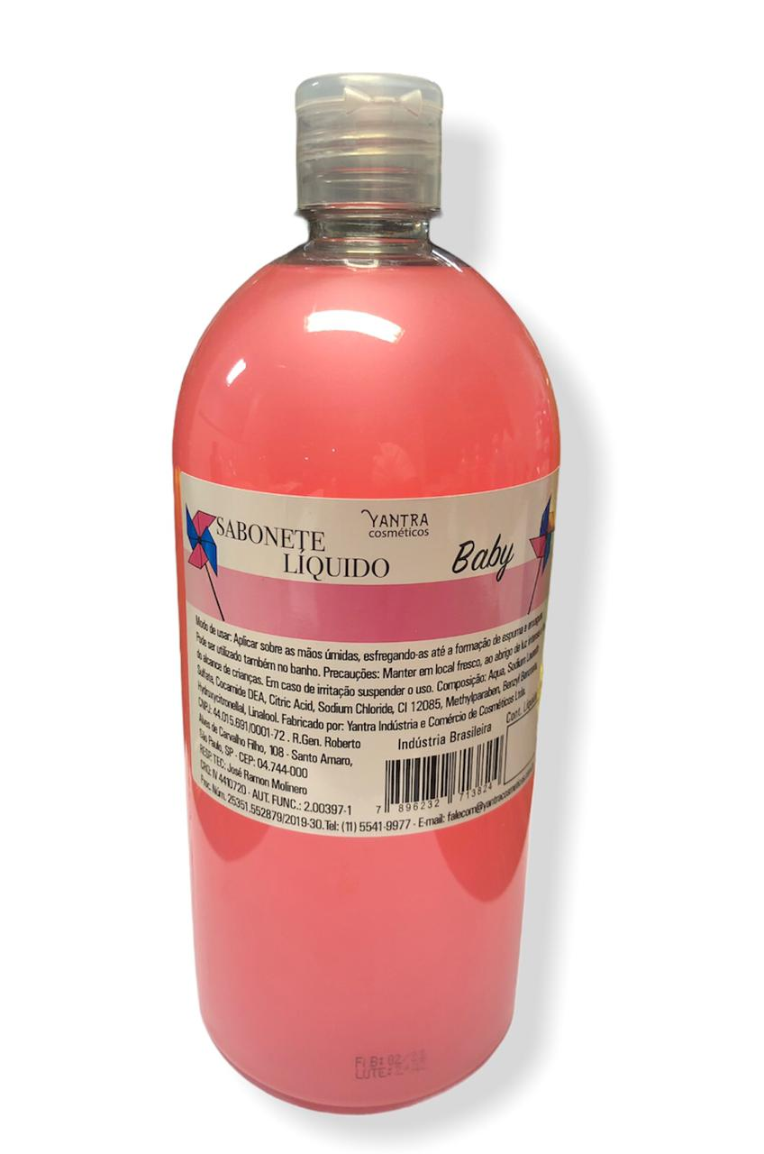 SABONETE LIQUIDO BABY - 01 litro