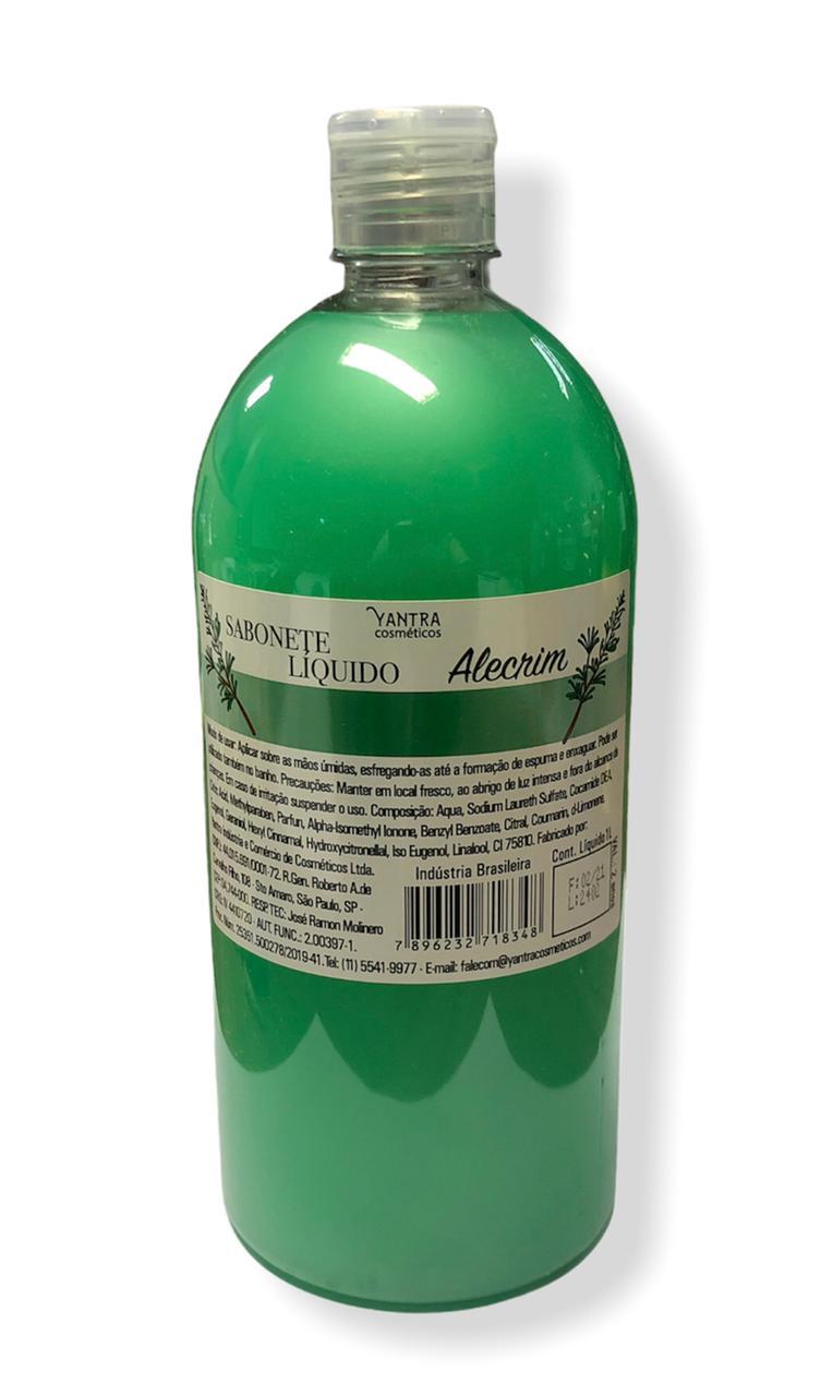 SABONETE LIQUIDO DE ALECRIM - 01 litro