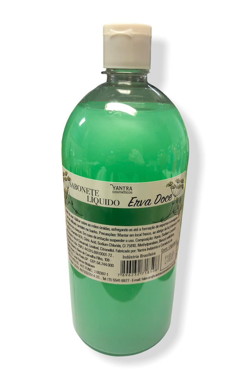 SABONETE LIQUIDO DE ERVA DOCE - 01 litro