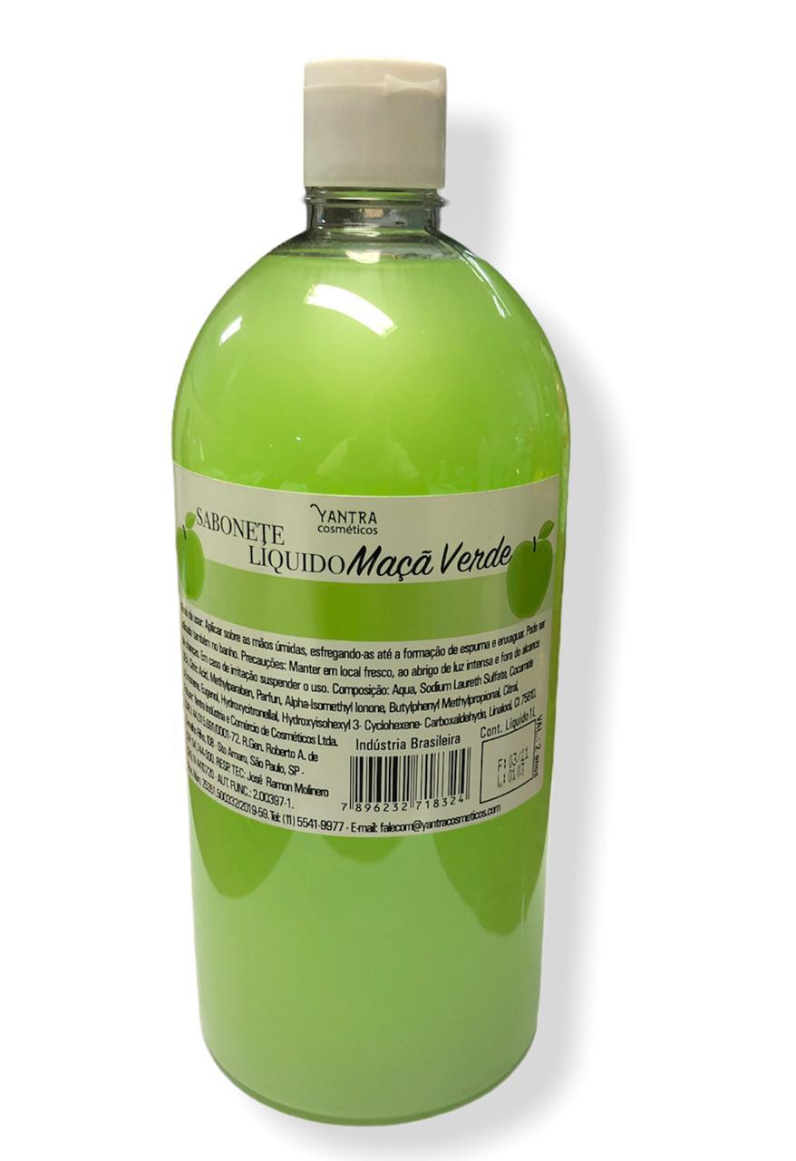 SABONETE LIQUIDO DE MAÇA VERDE - 01 litro