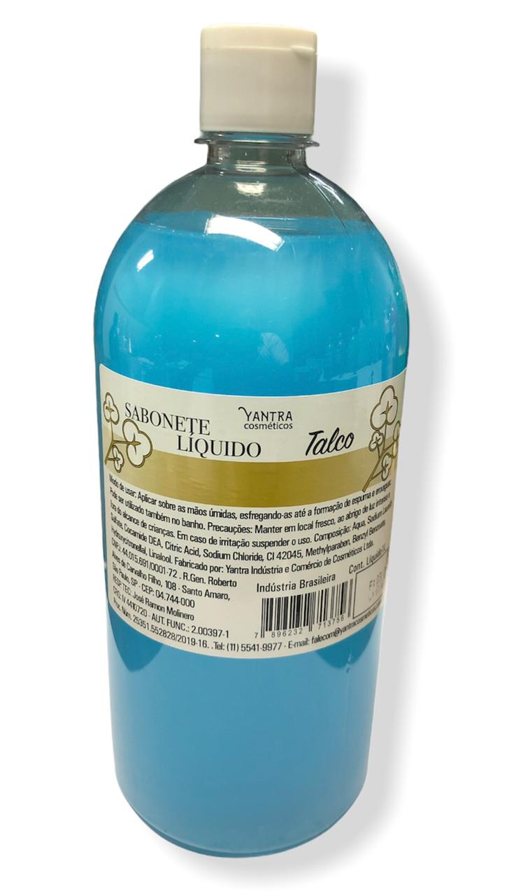 SABONETE LIQUIDO DE TALCO - 01 litro