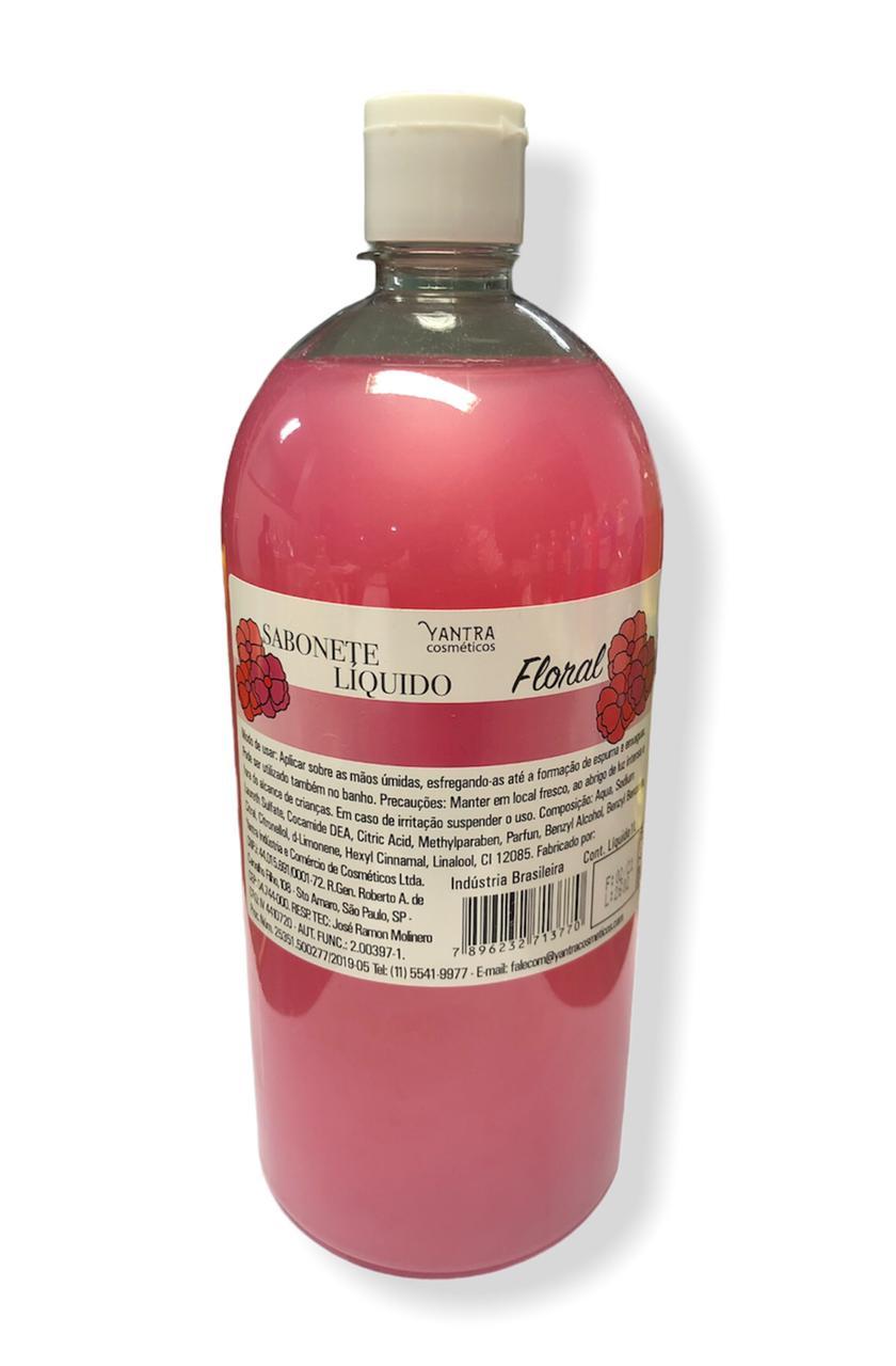 SABONETE LIQUIDO FLORAL - 01 litro