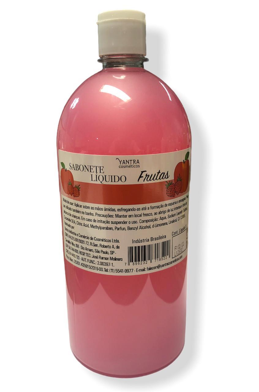 SABONETE LIQUIDO FRUTAS - 01 litro