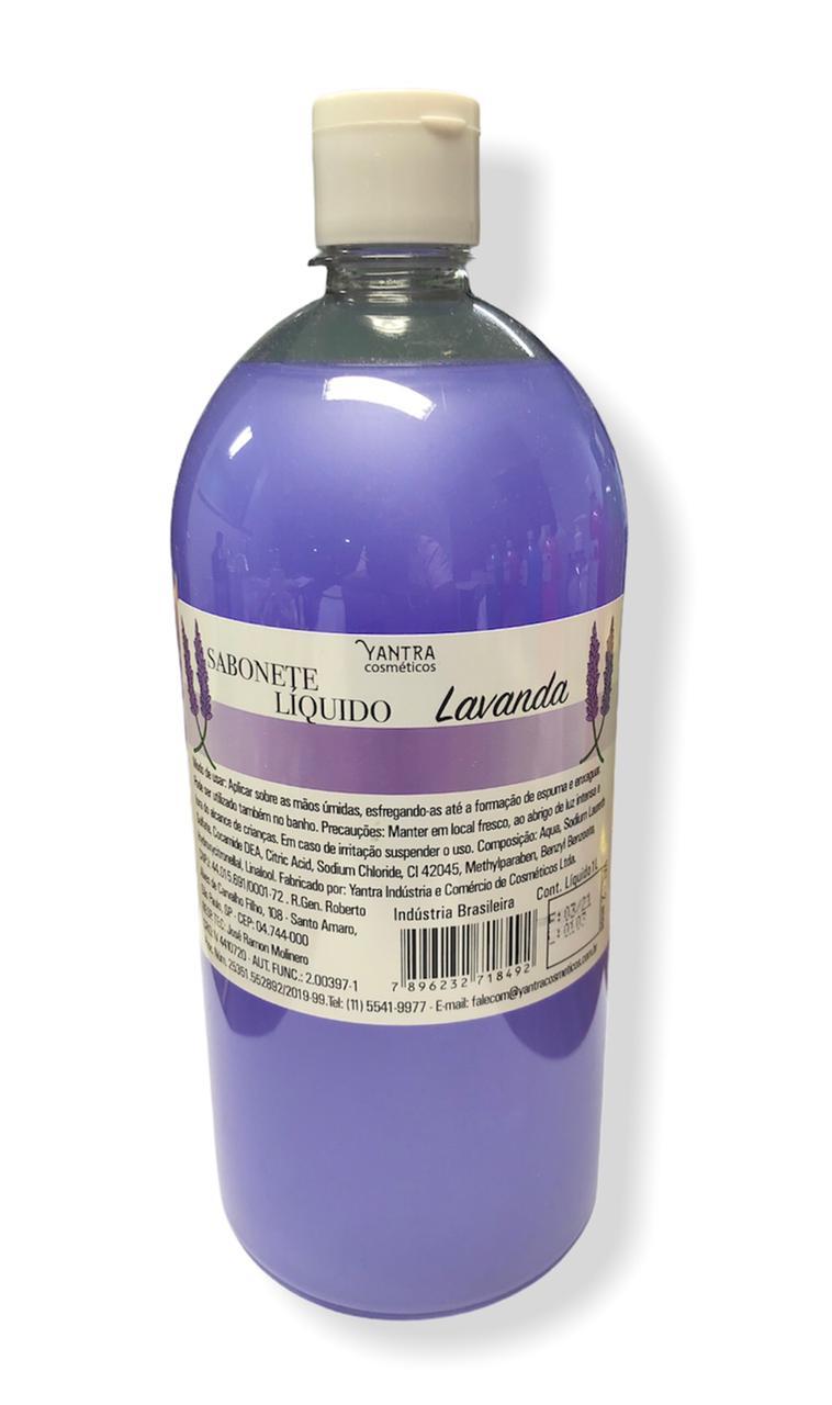 SABONETE LIQUIDO LAVANDA - 01 litro