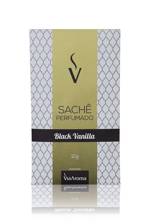SACHÊ AROMATICO BLACK VANILLA 10g